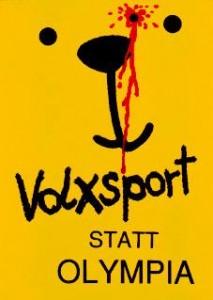 Logo der NOlympia-Kampagne aus den 1990ern gegen 'Berlin 2000'